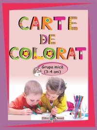 Carte de colorat Grupa mica ( 3-4 ani )