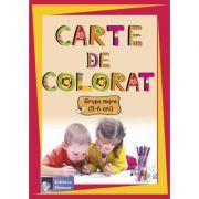 Carte de colorat Grupa mare ( 5-6 ani )