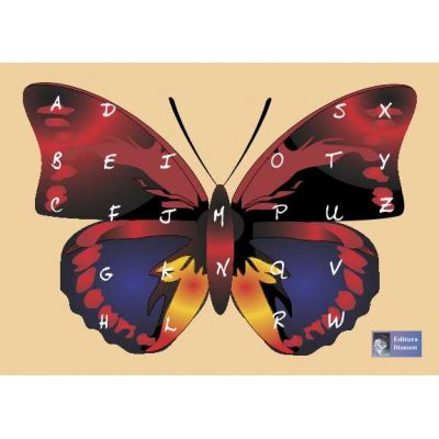 Puzzle Alfabet Roşu