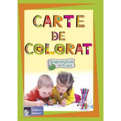 Carte de colorat Grupa mijlocie ( 4-5 ani )
